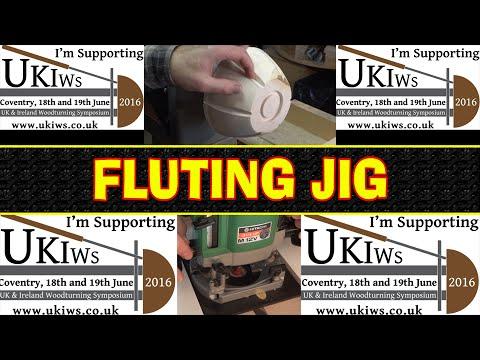 Fluting Jig For Turners