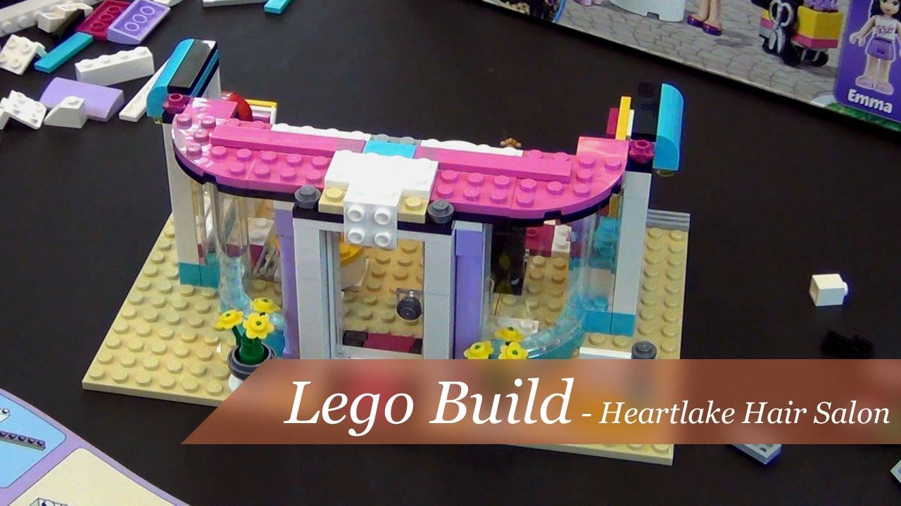 How To Build Lego Friends Hair Salon