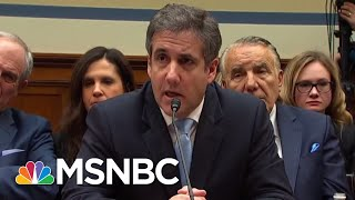 Michael Cohen Documents Raise Questions About Donald Trump Financial Fraud | Rachel Maddow | MSNBC