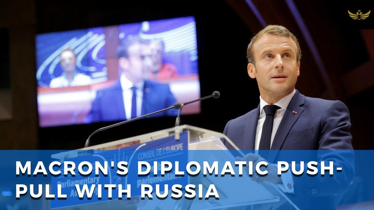 "Macron blasts Russia for its Ukraine ""invasion"". Calls on Russia to move away from China"