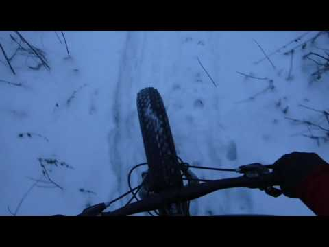 Snow Fat Biking - Port Washington, WI MTB Trails