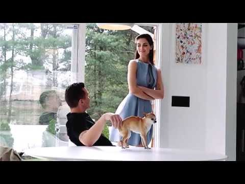 Behind the Scenes with Sean Avery and Hilary Rhoda for Hamptons Magazine