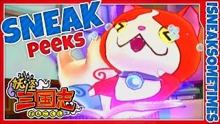 Sneak Peeks: Yo-Kai Sangokushi Part 1? | Three Romances Jibanyan's Story Mode Gameplay Walkthrough