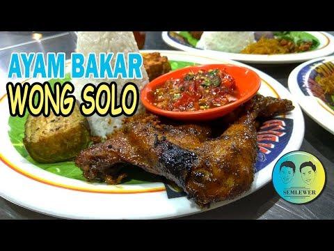 Harga Menu Ayam Bakar Wong Solo Malang Terbaru 2021