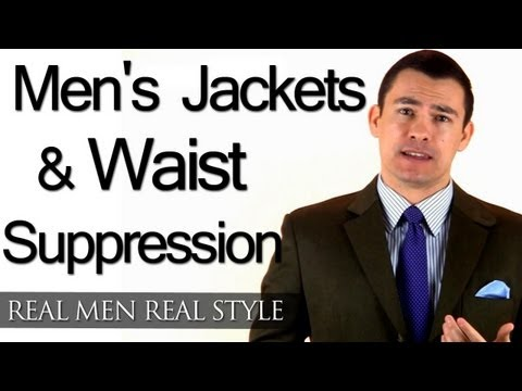 Men's Jackets & Waist Suppression - Tailoring An Off The Rack Men's Suit - Menswear Alterations