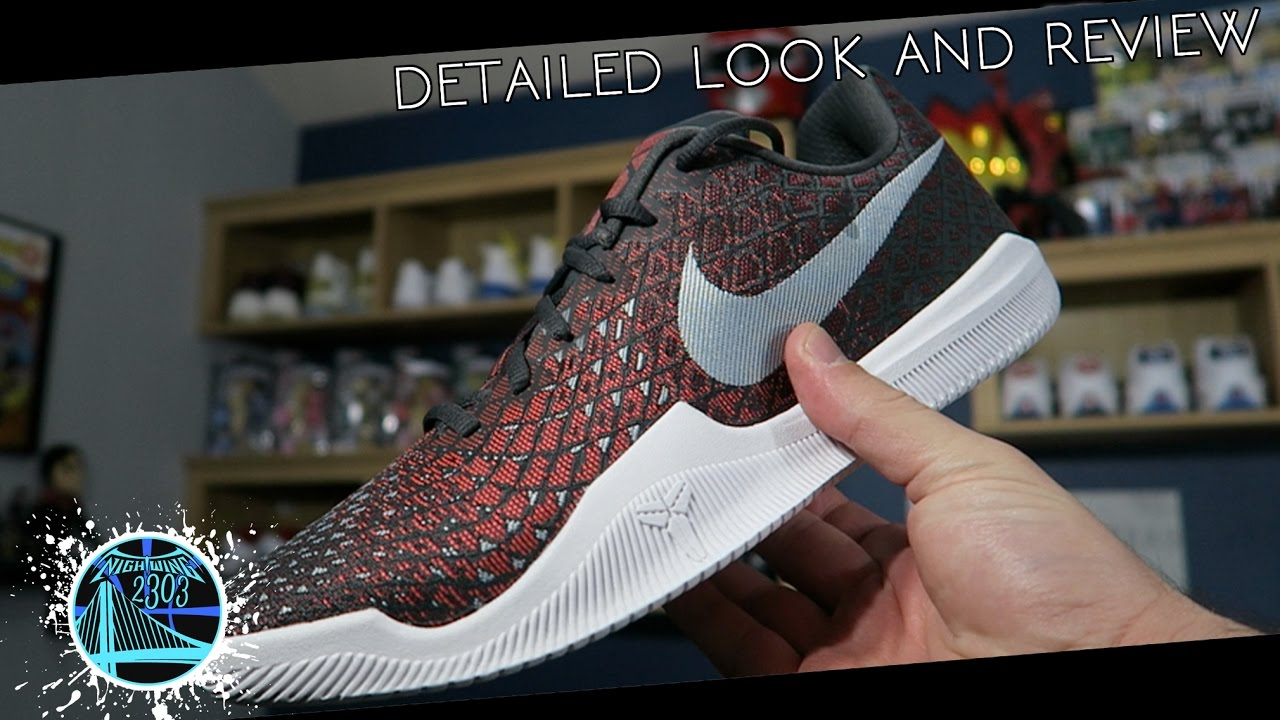 cheaper b7334 7efec Nike Mamba Instinct   Detailed Look and Review - YouTube