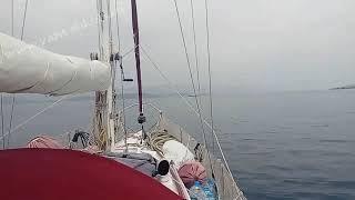 Обучение яхтингу в Анапе - перегон яхты Eagle - эпизод 6