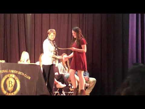 Jemison Middle School Beta Club Ceremony