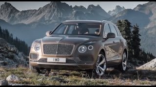 New bentley bentayga 2016 - first test drive
