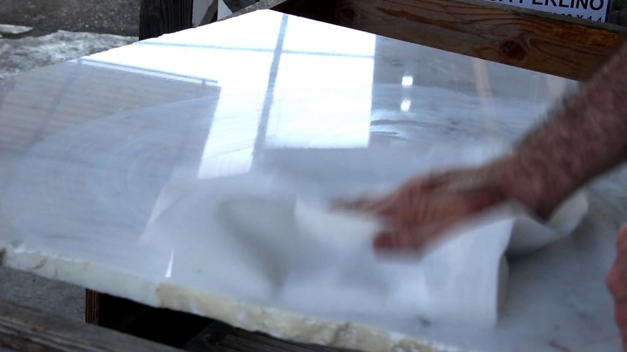 5 metodi (più uno) per lucidare o smacchiare il marmo