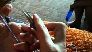 Вязание на спицах, набираем петли