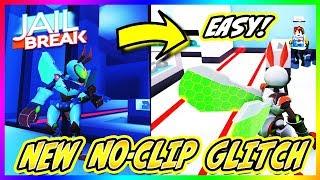 NEW JAILBREAK NOCLIP GLITCH (Roblox) *SUPER EASY* | Practically Walk Through Walls