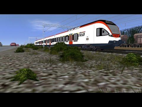 Trainz12 Sm5 Kirkkonummi - Helsinki
