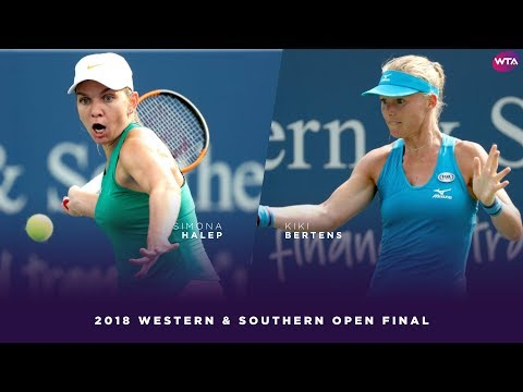 Simona Halep vs. Kiki Bertens | 2018 Western & Southern Open Final | WTA Highlights