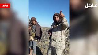 """بالفيديو.. الحوثيون """"جثث وأشلاء"""" بعد سيطرة الشرعية على """"خالد بن الوليد"""""""