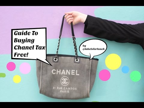 Guide To Buying Tax Free / Duty Free Chanel Handbags & Jewellery! Airport Shopping!!