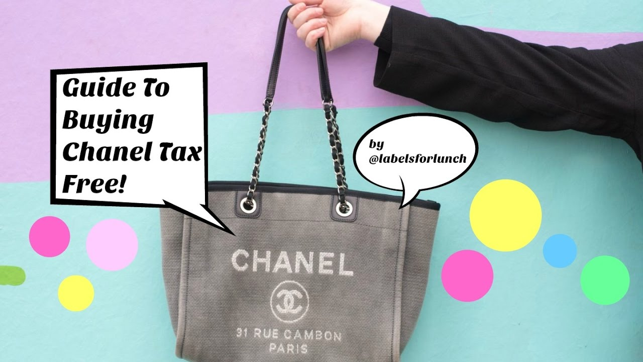 9b8154198b Guide To Buying Tax Free / Duty Free Chanel Handbags & Jewellery! Airport  Shopping!!