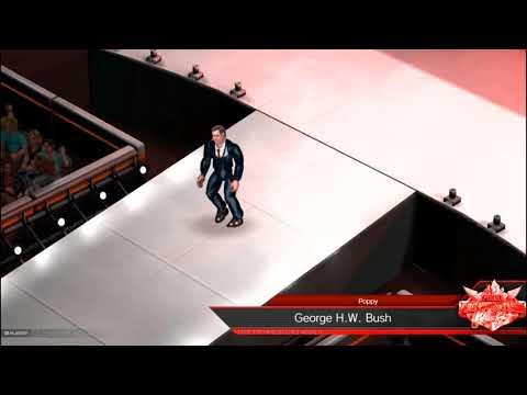 George H.W. Bush - Fire Pro Wrestling World