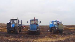 Qaytib transaxle repairing so'ng T-150K-09, shudgorlash uchun. (195-Kun 3-Mavsum)