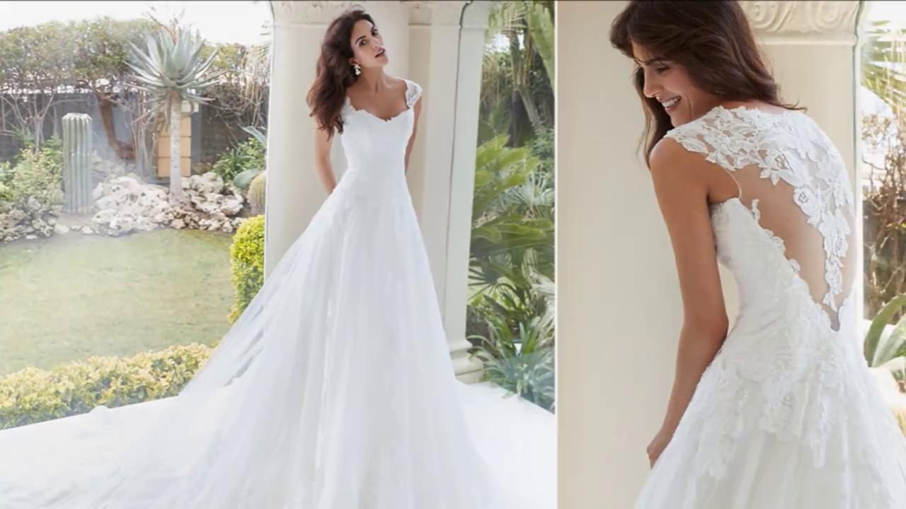 Alessandra Rinaudo 2018 Abiti da sposa - YouTube 2bd2e0afc73