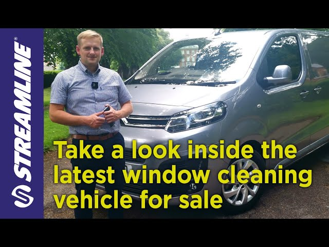 What's inside the latest window cleaning vehicle?
