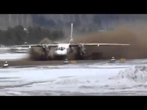 Antonov An 24 Extreme Rough Take off
