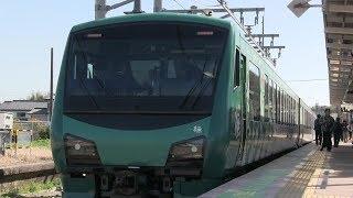 JR烏山線 烏山駅 HB‐E300系「橅」(リゾートぶなからすやま)
