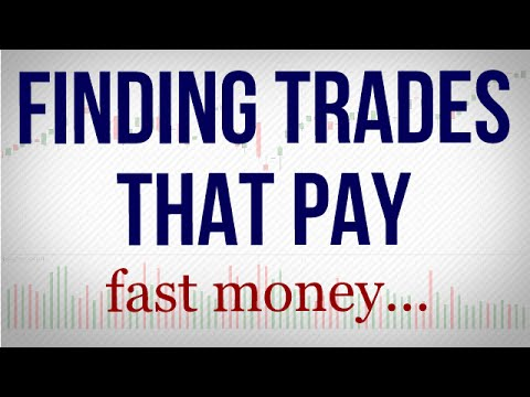 How to identify swing trades that pay fast profits