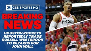 Rockets reportedly deal Russell Westbrook to Wizards for John Wall, first-round pick | CBS Sports HQ