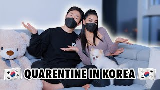 Our *UNEXPECTED* Quarantine Experience in Korea | JADIPIA INTERNATIONAL COUPLE