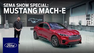 homepage tile video photo for Ford Auto Nights: SEMA Show Special - Mustang Mach-E | Ford