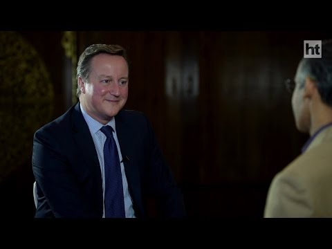 HT Exclusive - David Cameron on the future of Europe, terrorism and India-UK relations