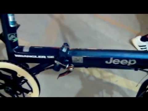 ขายแล้ว Jeep bicycle จักรยานพับได้ สีน้ำเงิน #มือสองตามสภาพ 2handshow #7