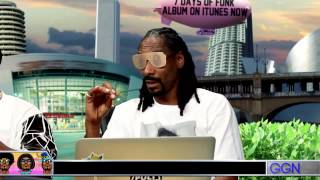 Snoop Dogg impersonates today