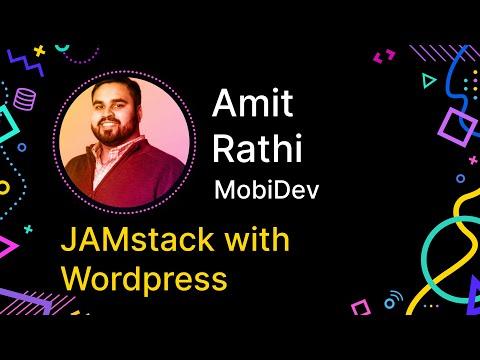 JAMstack With WordPress