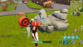 Fortnite solo gameplay