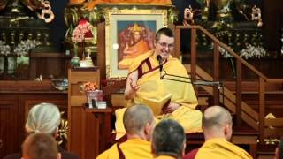 US Kadampa Festival - using difficult conditions as spiritual lessons - Gen la Dekyong