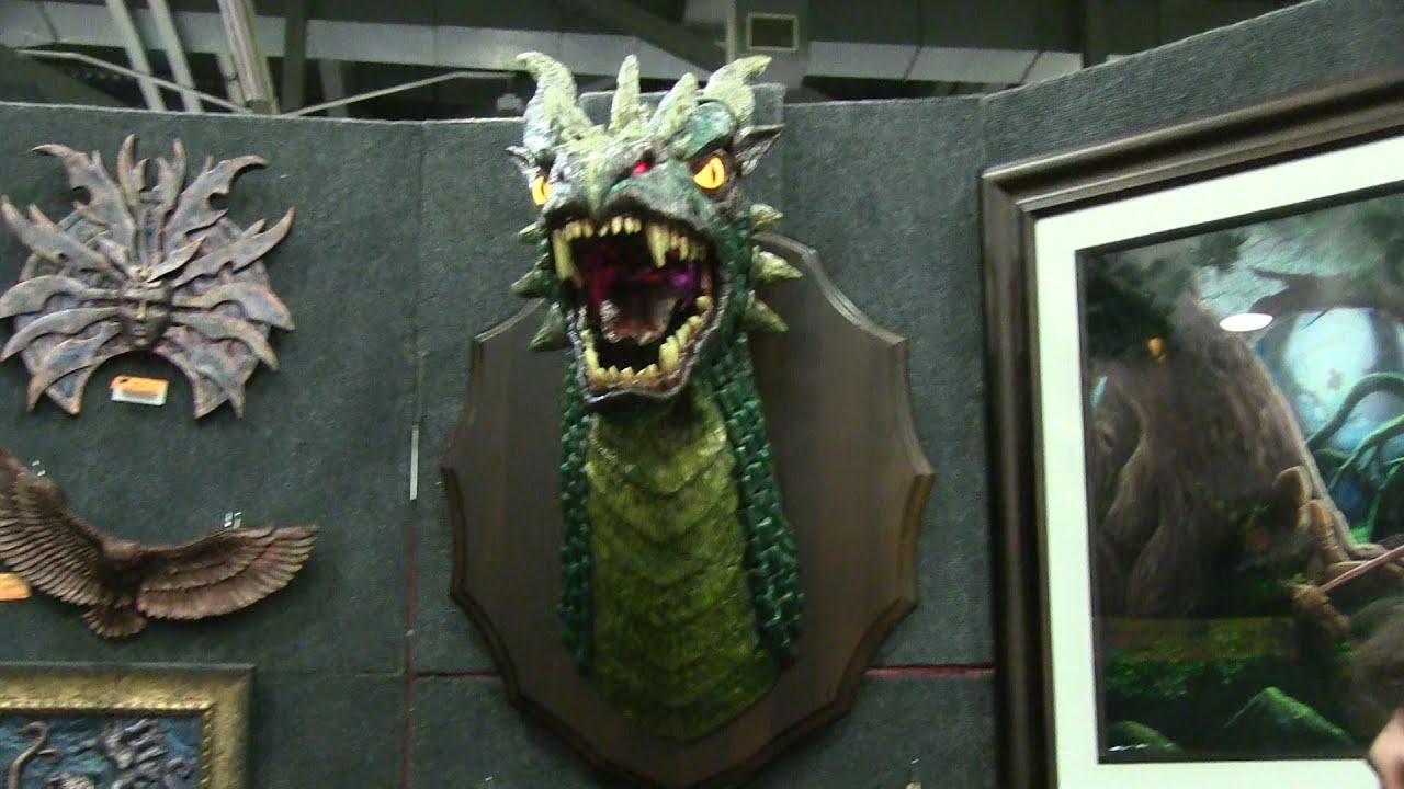 Mount A Dragon Head On Your Wall
