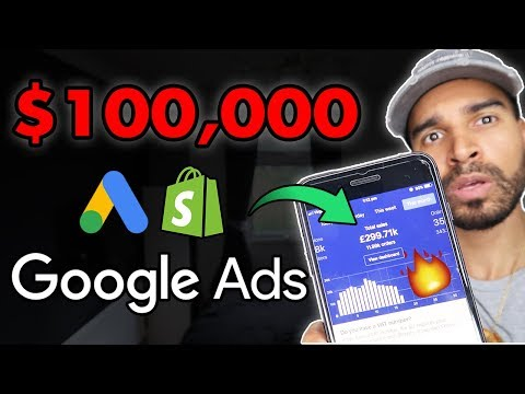 How I Turned $2K Into $100,000 With Google Ads | Shopify Dropshipping thumbnail