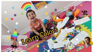 Learn Colors|Colors+spell+activities for Kids|Educational Video for Toddlers #Colors #Preschool #रंग