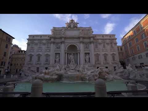 Girare per le strade di Roma durante la quarantena da COVID-19 Marzo 2020