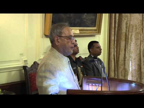 Probationers of Indian Postal Service calls-on the President