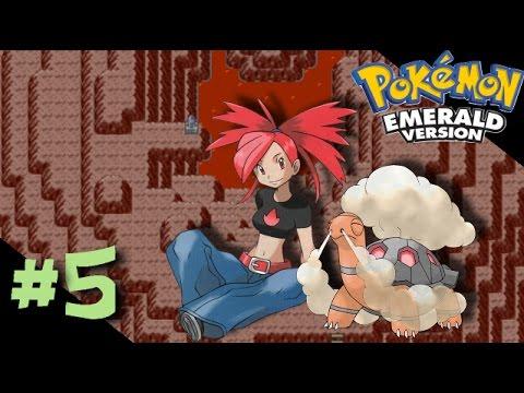 Pokemon Emerald: Episode 5 - Lavaridge Gym Leader Flannery & Mt. Chimney