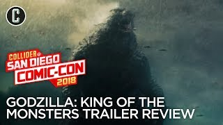Godzilla 2 Trailer Review - SDCC 2018