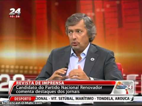 O PNR em Coimbra, e entrevista ao Presidente José Pinto-Coelho
