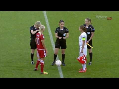 Women's Euro-2017 qualification. Denmark - Poland (07/06/2016)