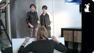 """Tegan and Sara Behind the Scenes """"Closer"""" Pet Parody"""