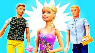 Кого выберет Барби? —Новое ЗАГАДОЧНОЕ видео скуклами— Барби назначила свидание ипропала!