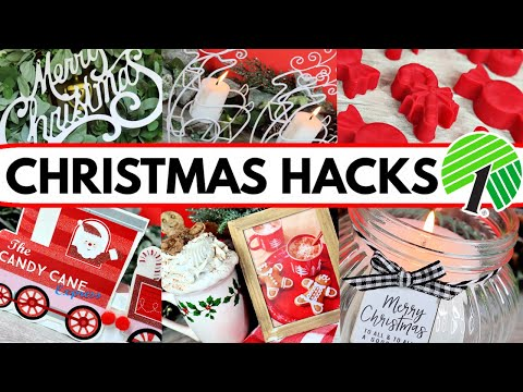 AMAZING DOLLAR TREE DIYs AND HACKS! (DIY Christmas Decoration Ideas!)