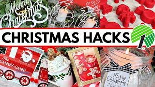 AMAZING DOLLAR TREE DIYs AND HACKS! (DIY Christmas decoration ideas!)